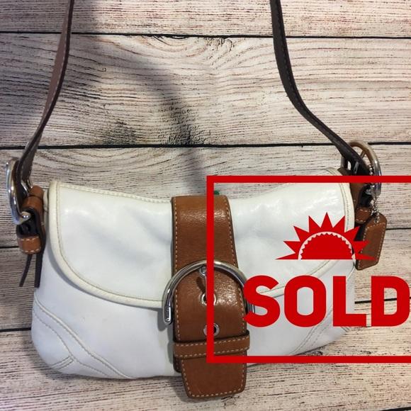 Coach Handbags - SOLD! COACH SOHO Leather Flap Shoulder Bag